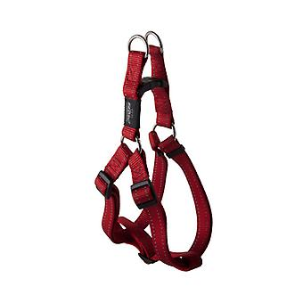 Rogz Utility Red Step-In Harness