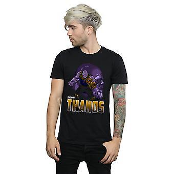 The Avengers Herren Infinity Krieg Thanos Charakter T-Shirt