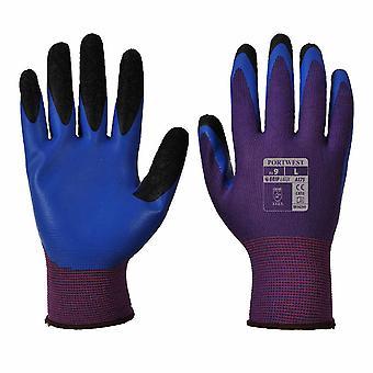 Portwest - Duo-Flex Work & Gripper Glove (12 Pair Pack)