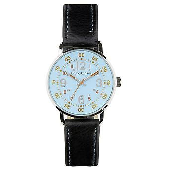 Bruno Banani watch wrist watch of Moros leather analog BR30012