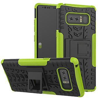 Morceau de cas 2 hybride vert extérieur SWL pour contact Samsung Galaxy 8 N950 N950F