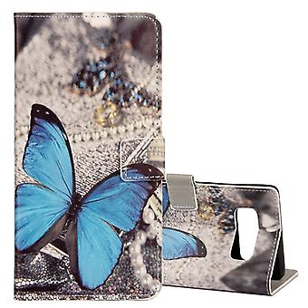 Pocket wallet motif 35 for Samsung Galaxy touch 8 N950 N950F sleeve case pouch cover protection