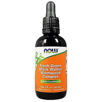 Now Foods Fresh Green Black Walnut Wormwood complex 60 ml