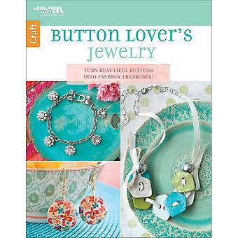 Leisure Arts-Button Lovers Jewelry