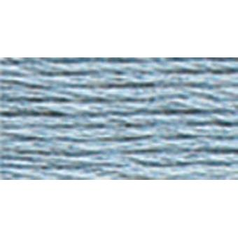 DMC 6-Strand Embroidery Cotton 100g Cone-Antique Blue Light
