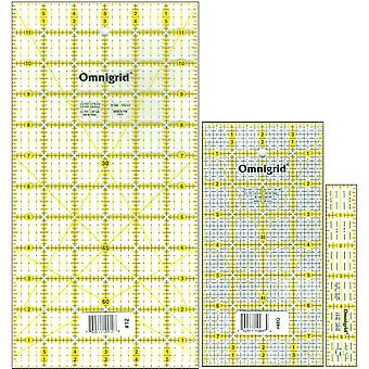 Omnigrid Ruler Set-Basics 3/Pkg