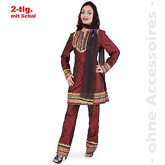 Maharani señora princesa India chica señoras traje