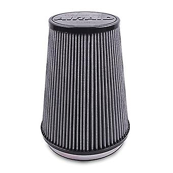 Airaid 700-470TD Racing Air Filter: Round Tapered; 4 in (102 mm) Flange ID; 9 in (229 mm) Height; 6 in (152 mm) Base; 4.