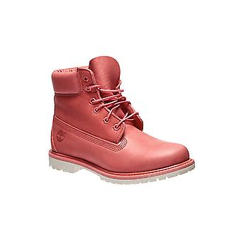 Timberland AF 6-inch premium women's genuine leather boots coral