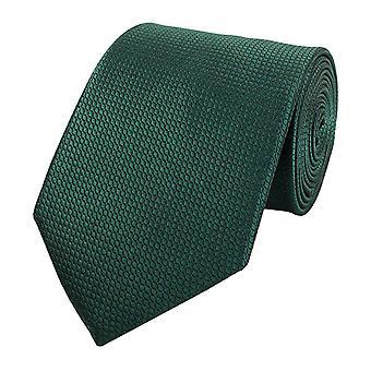 Knytte slipset slips slips 8cm grønne vaffel optikk Fabio Farini