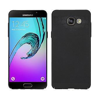Caja del teléfono celular para Samsung galaxia A3 2017 manga caja bolsa funda negro
