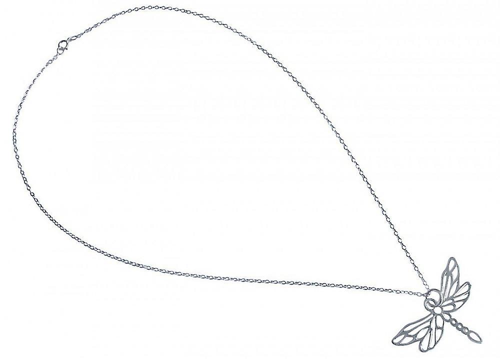 Filigrane argentkette - Kette –  Halskette – Anhänger – argent – LIBELLE – 45 cm
