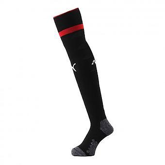 2018-2019 AC Mailand Puma dritte Fußball Socken (schwarz)