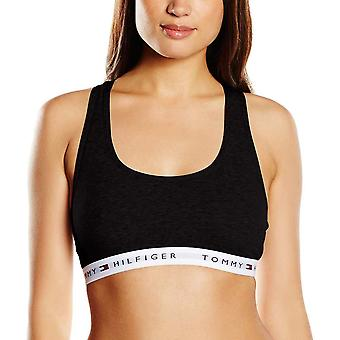 Tommy Hilfiger Cotton Bralette - Black