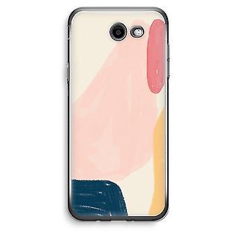 Samsung Galaxy J3 Prime (2017) Transparent Case (Soft) - Saturday Flow