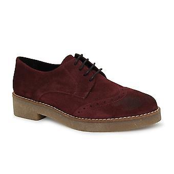 Liberitae Zapatos De Cordones Y Bluchers Blucher En Serraje Burdeos 21703600-03