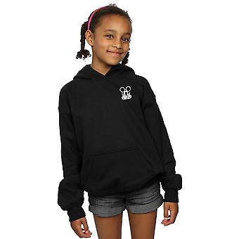 Disney Girls Mickey Mouse Don't Speak Breast Print Hoodie