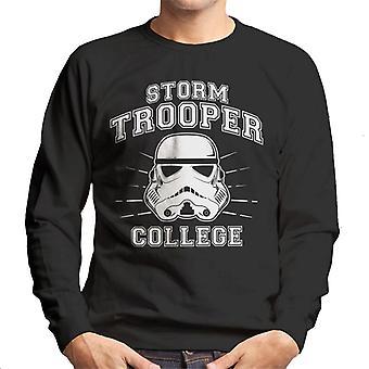 Faculdade de Stormtrooper original camisola homens