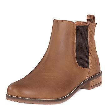 Womens Barbour Abigail Leather Casual Elastic Pull On Winter Ankle Boots