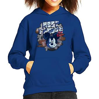 Disney Mickey Mouse Band Most Famous Not Basic Kid's Hooded Sweatshirt