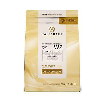 Callebaut weiße Schokolade
