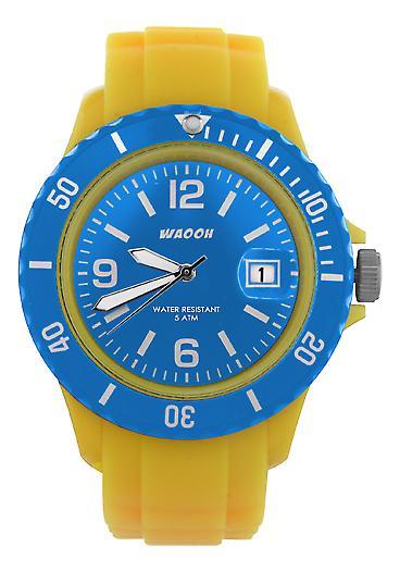 Waooh - viser MONACO38 gul ekstern & bezel farge