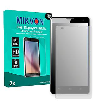 Huawei Honor 3C Screen Protector - Mikvon Clear (Retail Package with accessories)