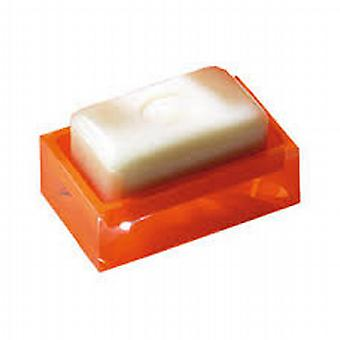 Arcobaleno Soap Dish lucido arancio RA11 67