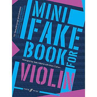 Mini Fake Book för Violin - (violin) av Sally Adams - Mary Cohen - 978