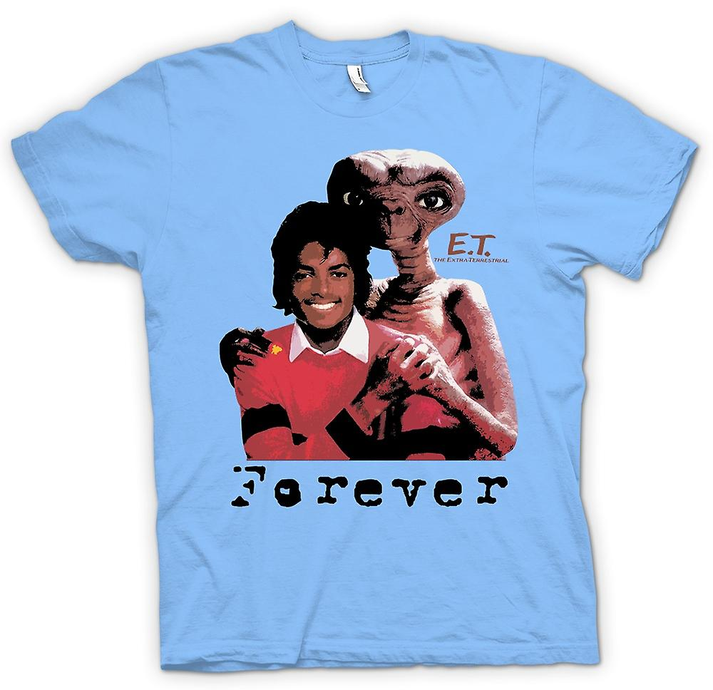 Herr T-shirt-Et Michael Jackson - Forever Alien