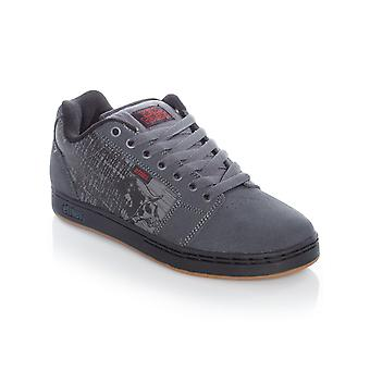Etnies Metal Mulisha Dark Grey-Black-Red Barge XL Shoe