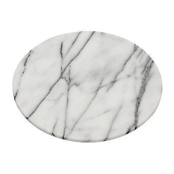 White Marble Lazy Susan Serving Tray 31cm