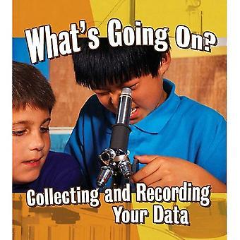 What's Going On?: verzamelen en opname van uw gegevens (Step Into Science)
