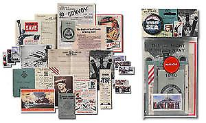 War At Sea nostalgic memorabilia pack