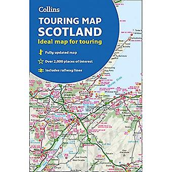 Scotland Touring Map: Ideal� for exploring