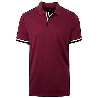 Michael Kors  Michael Kors Dark Red Polo