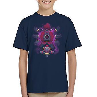 Pokemon Hoopa Pattern Kid's T-Shirt