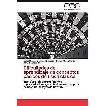 Dificultades de aprendizaje de conceptos bsicos de fsica clsica by Gonzlez Quezada Mara Dolores