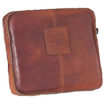Ashwood Leather Shoreditch Vintage Dipped Leather Tablet Sleeve - Rust Tan