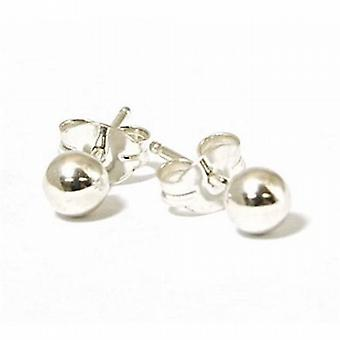 The Olivia Collection Sterling Silver 4mm Ball Stud Earrings