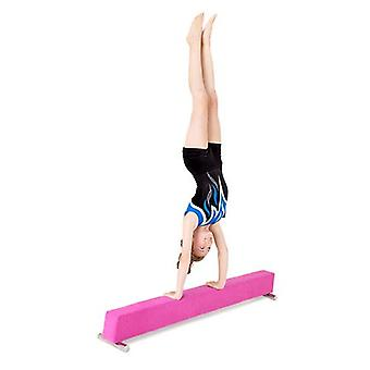 Fun!ture® Pink Faux Suede 6ft Long Gymnastics Practice Balance Beam