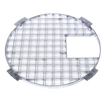 Apollo Round Galvanised Steel Grid 60cm Dia