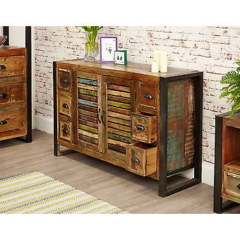 Urban Chic 6 Drawer Sideboard Brown - Baumhaus