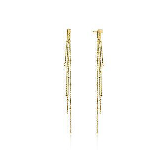 Ania Haie Gold Plated Sterling Silver 'Tassle' Drop Earrings