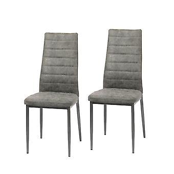 Dining room chair chair set of 2 Ingvar vintage grey 10791