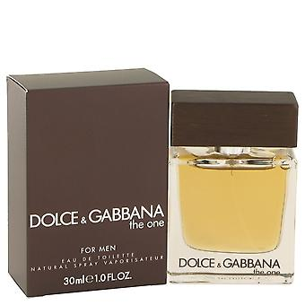 The One by Dolce & Gabbana Eau De Toilette Spray 1 oz / 30 ml (Men)