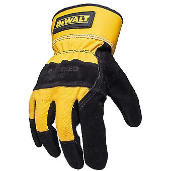 Dewalt Mens DeWalt Rigger Durable Strong Leather Gloves