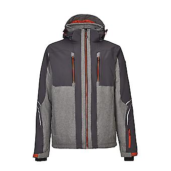 killtec Men's Ski Jacket Badin Colourblock