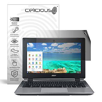Celicious Privacy 2-Way Anti-Spy Filter Screen Protector Film Compatible with Acer Chromebook 11 C730