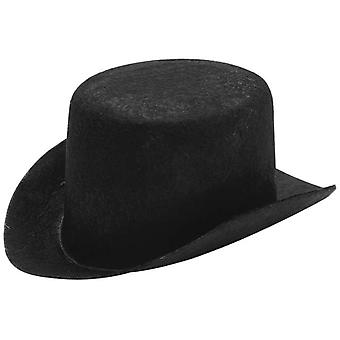 Stiffened Felt Top Hat 5 1 2